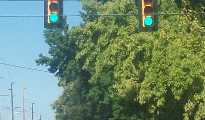 ordinary picture green light