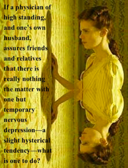 an analysis of the major themes in the yellow wallpaper by charlotte perkins gilman Stylistic analysis of the yellow wallpaper the yellow wallpaper written by charlotte perkins gilman is a short story that details the accounts of a young woman struggling with the loneliness of depression and nervous breakdowns.