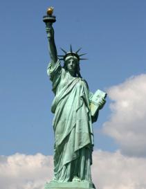 Statue of Liberty Christ
