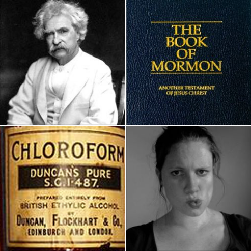 the Book of Mormon is chloroform in print